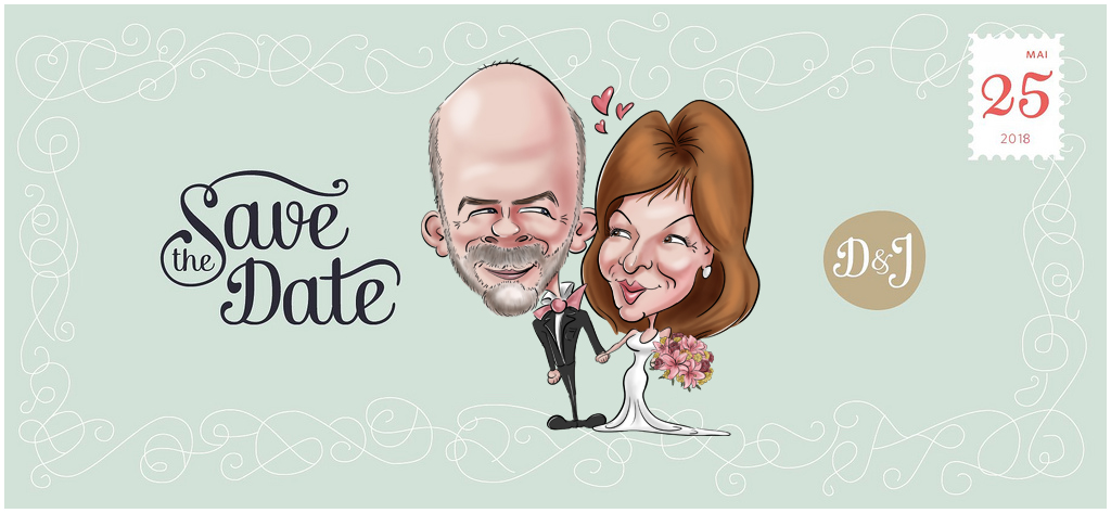 Save the date original pour mariage
